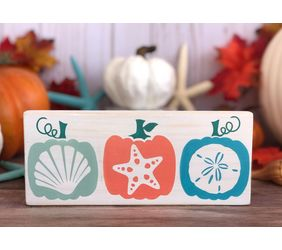 Coastal Pumpkins Sign