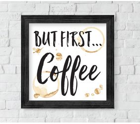 But First Coffee Sign, Digital Download