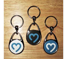 Goimagine Heart Logo Keychain