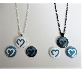 Goimagine Heart Magnet Pendant