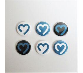 Goimagine Heart Logo Magnets