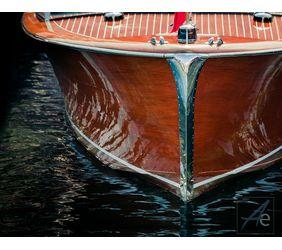 Chris Craft Boat fine art photography by Darin Ashton