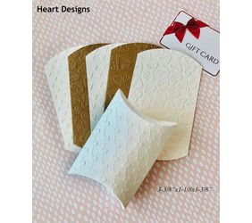 Heart pillow boxes