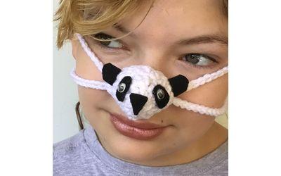 Fun Panda Nose Warmer