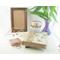 Tiny Copper Trinket Treasure Box with Opal