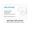 goimagine custom business cards - no logo format