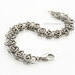 Stainless Steel Chainmaille Kinetics Bracelet