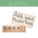 gaga photo frame
