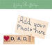 dad photo frame