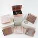 Tiny Hinge Lid Solid Copper Trinket Box with Black Onyx gemstone