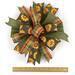 whimsical sunflower bow for Fall