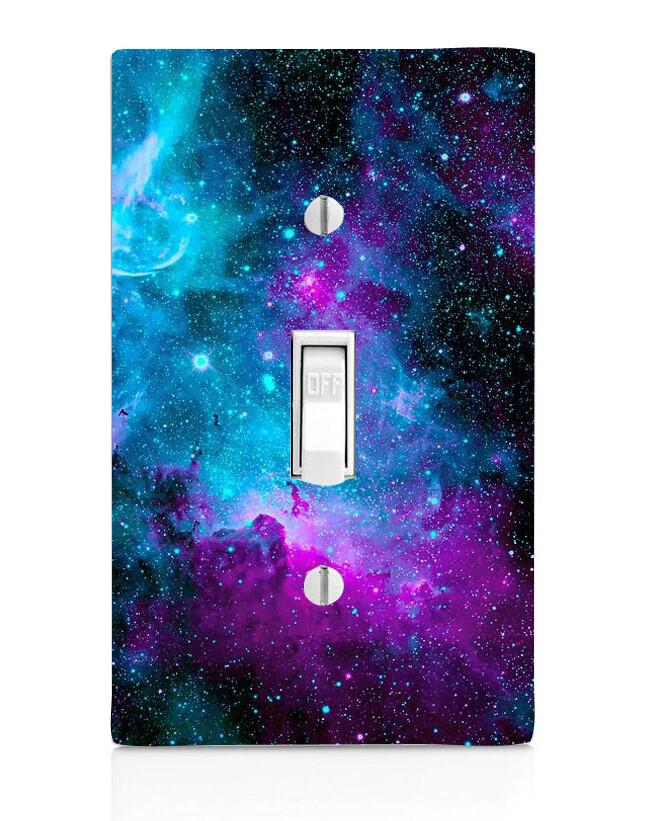 Night Light Home Decor Outlet Floral Multi Light Switch Cover Knob